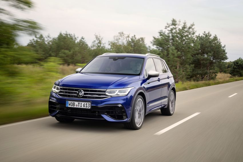 Volkswagen Tiguan R revealed – SUV with 320 PS, 4.9s Image #1216953