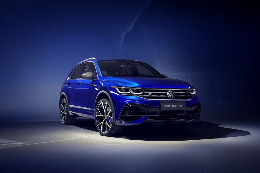 Volkswagen Tiguan R revealed – SUV with 320 PS, 4.9s Image #1216941