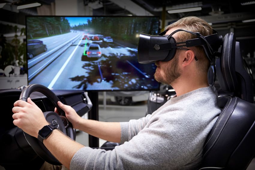 Volvo 'ultimate simulator' for developing safety tech Image #1214322