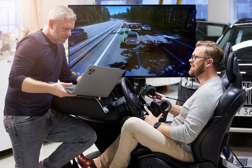 Volvo 'ultimate simulator' for developing safety tech Image #1214334