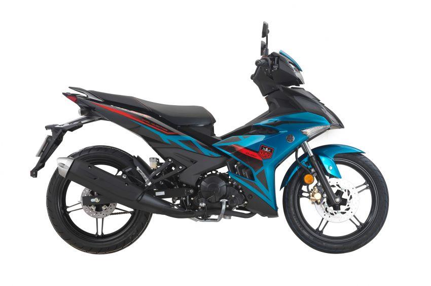 Yamaha Y15ZR diperkenal dalam grafik baru di M'sia Image #1206876