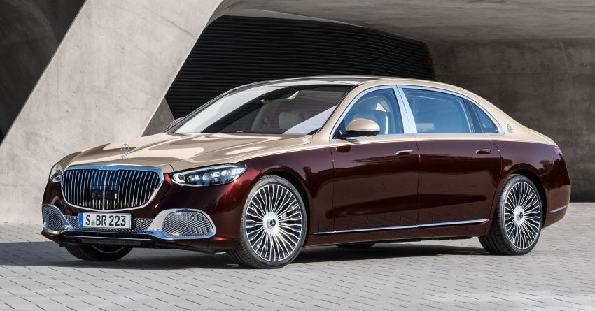 Z223 Mercedes-Maybach S-Class debuts – ultra-posh, tech-loaded flagship limo with 3,396 mm wheelbase Image #1213983