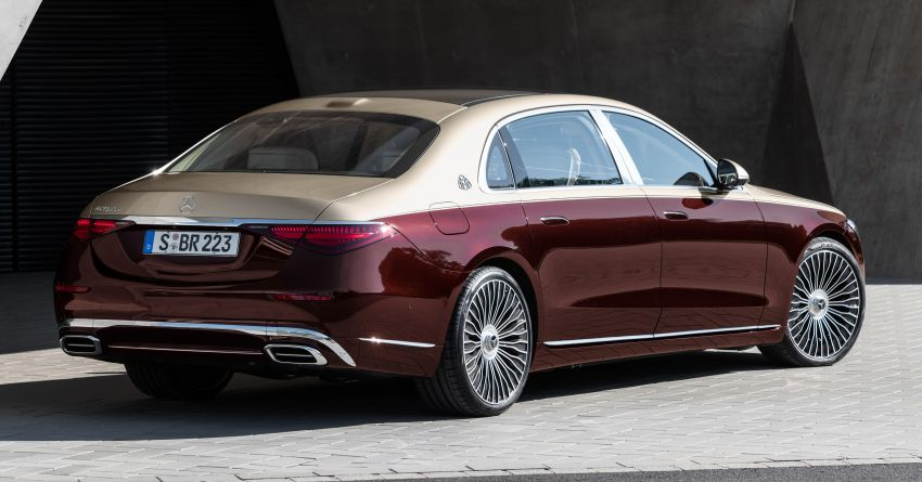Z223 Mercedes-Maybach S-Class debuts – ultra-posh, tech-loaded flagship limo with 3,396 mm wheelbase Image #1213984