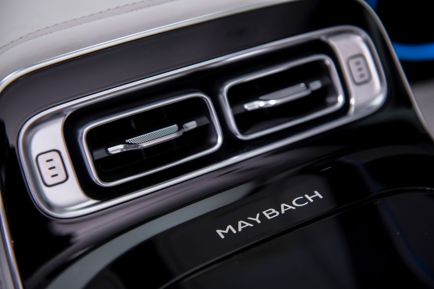 Z223 Mercedes-Maybach S-Class debuts – ultra-posh, tech-loaded flagship limo with 3,396 mm wheelbase Image #1214140