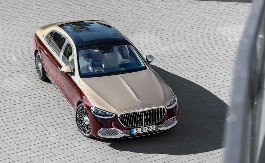 Z223 Mercedes-Maybach S-Class debuts – ultra-posh, tech-loaded flagship limo with 3,396 mm wheelbase Image #1213985