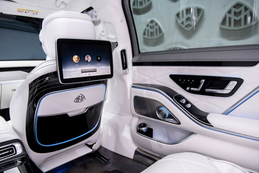 Z223 Mercedes-Maybach S-Class debuts – ultra-posh, tech-loaded flagship limo with 3,396 mm wheelbase Image #1214141