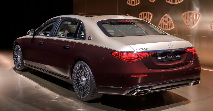 Z223 Mercedes-Maybach S-Class debuts – ultra-posh, tech-loaded flagship limo with 3,396 mm wheelbase Image #1214153