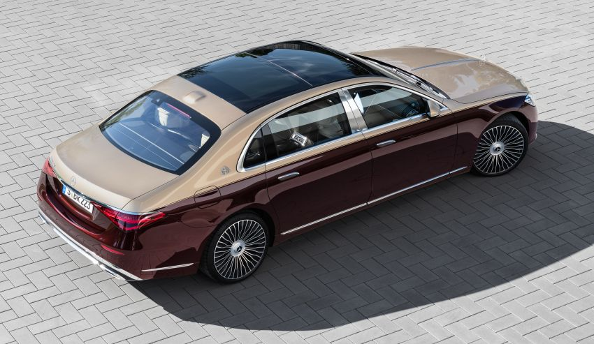 Z223 Mercedes-Maybach S-Class debuts – ultra-posh, tech-loaded flagship limo with 3,396 mm wheelbase Image #1213987