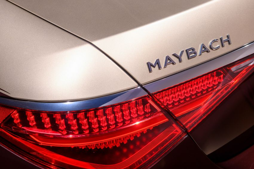 Z223 Mercedes-Maybach S-Class debuts – ultra-posh, tech-loaded flagship limo with 3,396 mm wheelbase Image #1214175