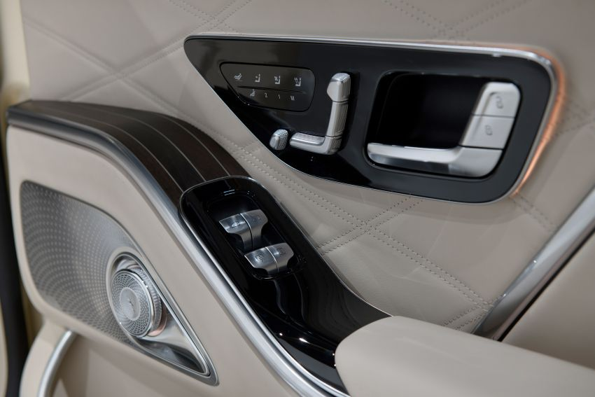 Z223 Mercedes-Maybach S-Class debuts – ultra-posh, tech-loaded flagship limo with 3,396 mm wheelbase Image #1214178