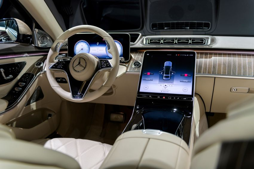Z223 Mercedes-Maybach S-Class debuts – ultra-posh, tech-loaded flagship limo with 3,396 mm wheelbase Image #1214189