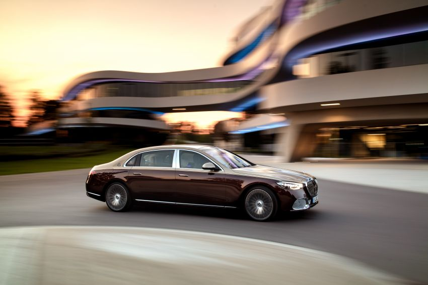 Z223 Mercedes-Maybach S-Class debuts – ultra-posh, tech-loaded flagship limo with 3,396 mm wheelbase Image #1213991