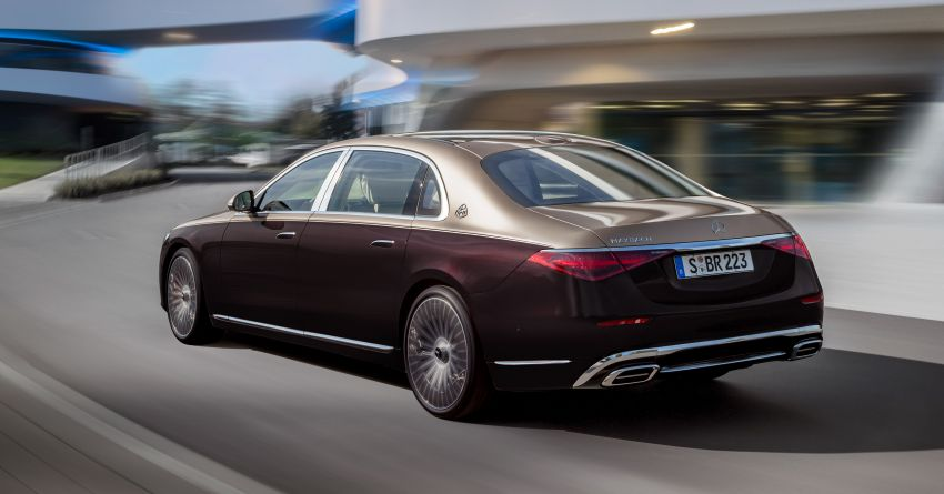 Z223 Mercedes-Maybach S-Class debuts – ultra-posh, tech-loaded flagship limo with 3,396 mm wheelbase Image #1213975