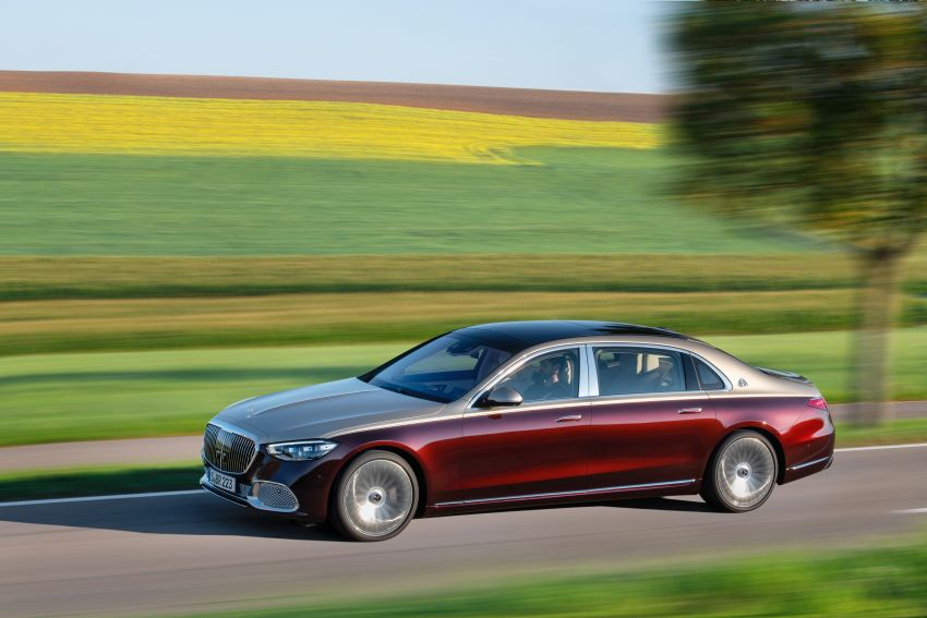 Z223 Mercedes-Maybach S-Class debuts – ultra-posh, tech-loaded flagship limo with 3,396 mm wheelbase Image #1213996