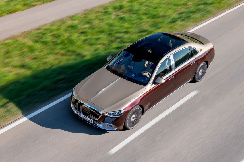 Z223 Mercedes-Maybach S-Class debuts – ultra-posh, tech-loaded flagship limo with 3,396 mm wheelbase Image #1213997
