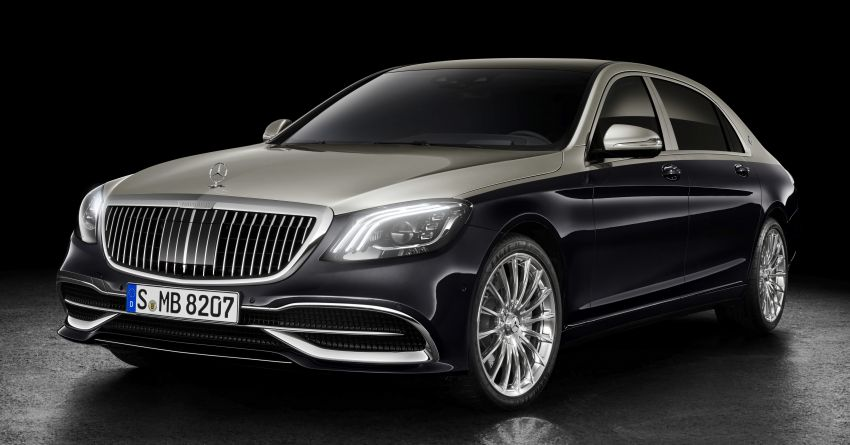 Z223 Mercedes-Maybach S-Class debuts – ultra-posh, tech-loaded flagship limo with 3,396 mm wheelbase Image #1214002