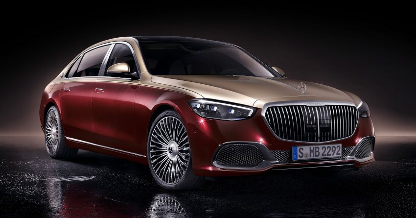 Z223 Mercedes-Maybach S-Class debuts – ultra-posh, tech-loaded flagship limo with 3,396 mm wheelbase Image #1214003