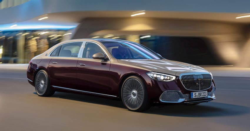 Z223 Mercedes-Maybach S-Class debuts – ultra-posh, tech-loaded flagship limo with 3,396 mm wheelbase Image #1213976