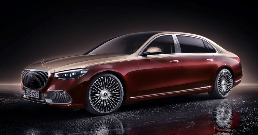 Z223 Mercedes-Maybach S-Class debuts – ultra-posh, tech-loaded flagship limo with 3,396 mm wheelbase Image #1214006