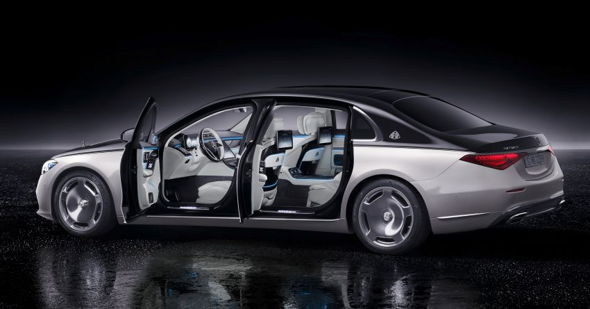 Z223 Mercedes-Maybach S-Class debuts – ultra-posh, tech-loaded flagship limo with 3,396 mm wheelbase Image #1214008