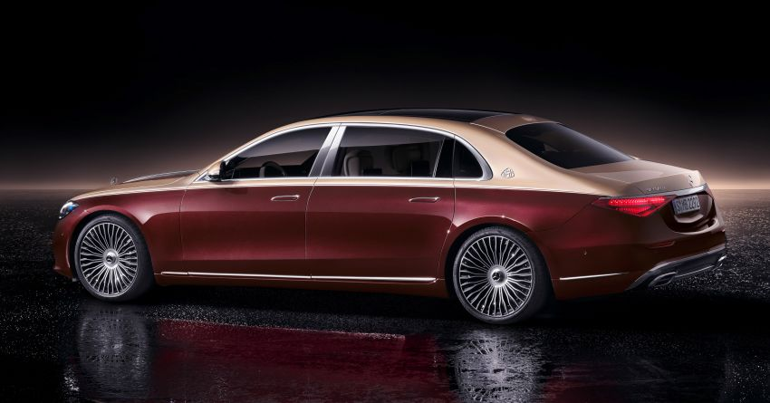 Z223 Mercedes-Maybach S-Class debuts – ultra-posh, tech-loaded flagship limo with 3,396 mm wheelbase Image #1214009