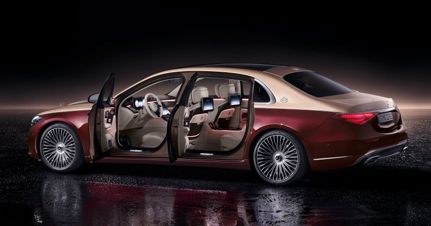 Z223 Mercedes-Maybach S-Class debuts – ultra-posh, tech-loaded flagship limo with 3,396 mm wheelbase Image #1214012