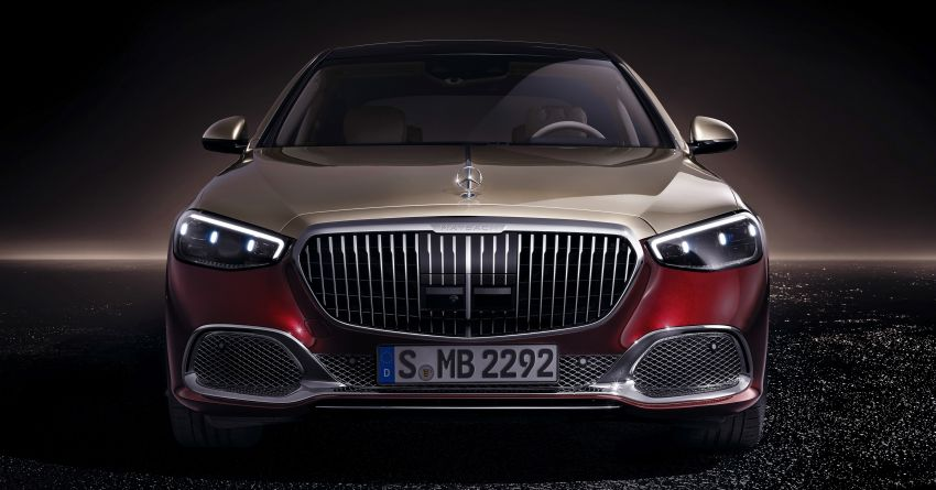 Z223 Mercedes-Maybach S-Class debuts – ultra-posh, tech-loaded flagship limo with 3,396 mm wheelbase Image #1214013