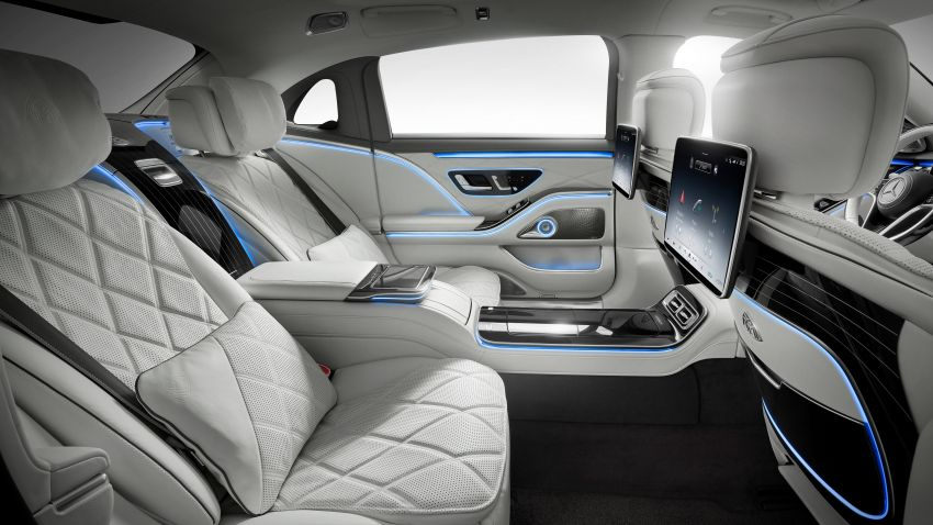 Z223 Mercedes-Maybach S-Class debuts – ultra-posh, tech-loaded flagship limo with 3,396 mm wheelbase Image #1214020