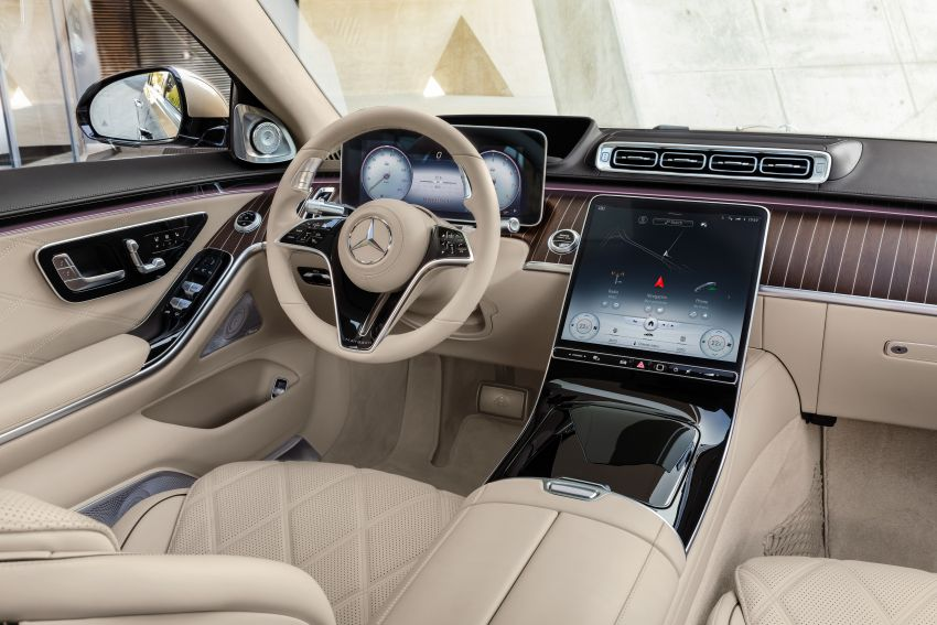 Z223 Mercedes-Maybach S-Class debuts – ultra-posh, tech-loaded flagship limo with 3,396 mm wheelbase Image #1214029