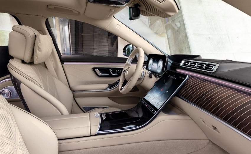 Z223 Mercedes-Maybach S-Class debuts – ultra-posh, tech-loaded flagship limo with 3,396 mm wheelbase Image #1214031