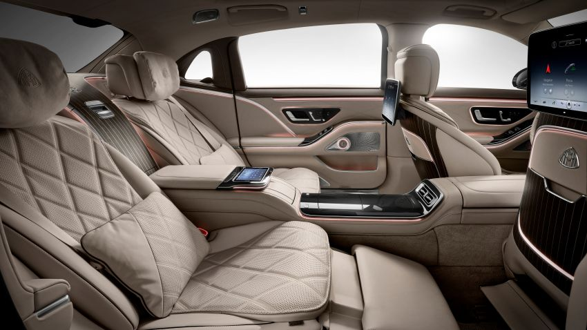 Z223 Mercedes-Maybach S-Class debuts – ultra-posh, tech-loaded flagship limo with 3,396 mm wheelbase Image #1214050