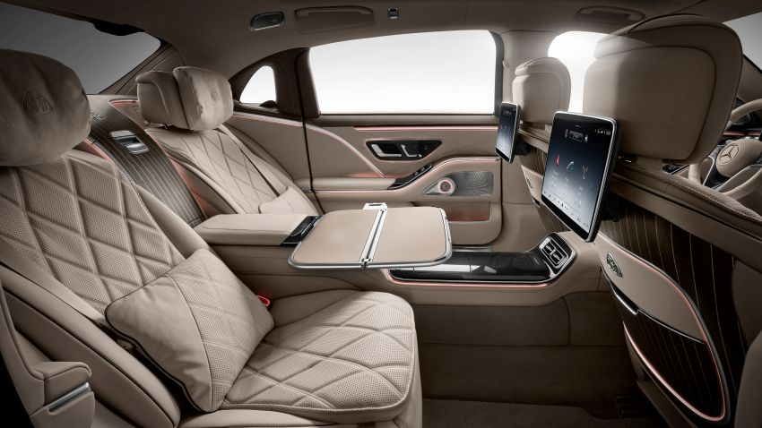 Z223 Mercedes-Maybach S-Class debuts – ultra-posh, tech-loaded flagship limo with 3,396 mm wheelbase Image #1214052