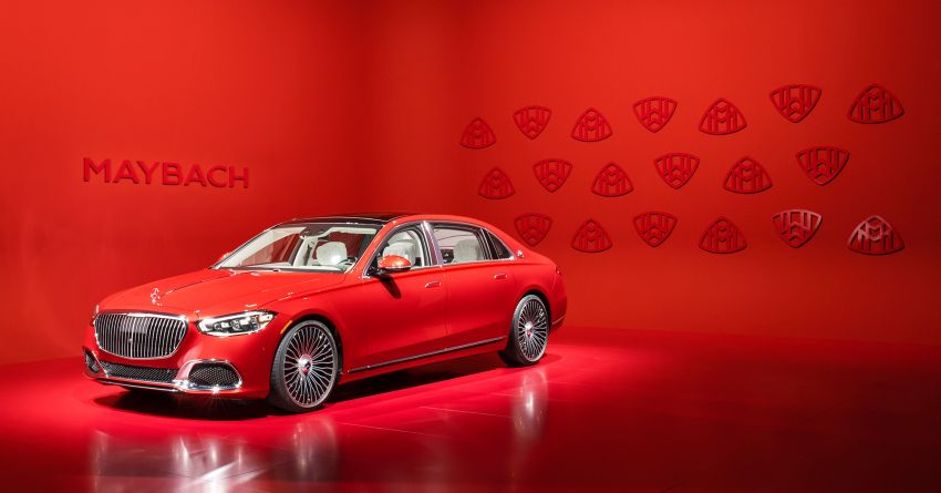 Z223 Mercedes-Maybach S-Class debuts – ultra-posh, tech-loaded flagship limo with 3,396 mm wheelbase Image #1214058