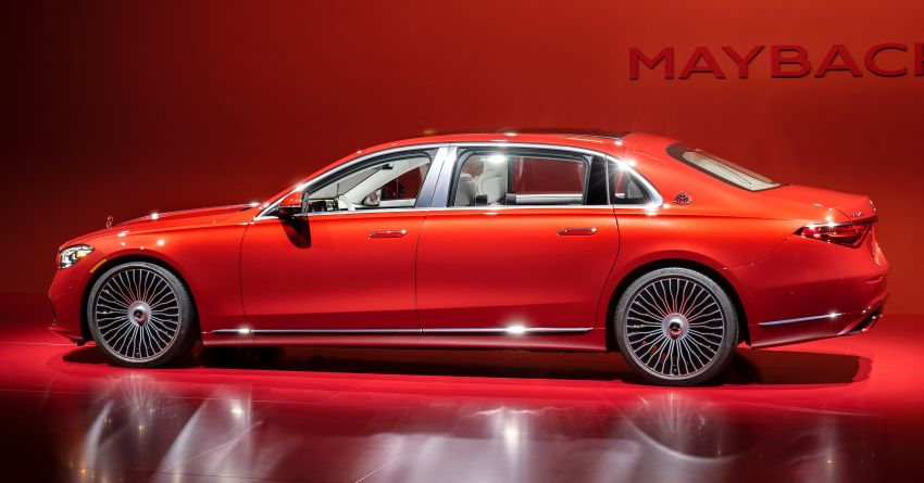 Z223 Mercedes-Maybach S-Class debuts – ultra-posh, tech-loaded flagship limo with 3,396 mm wheelbase Image #1214062