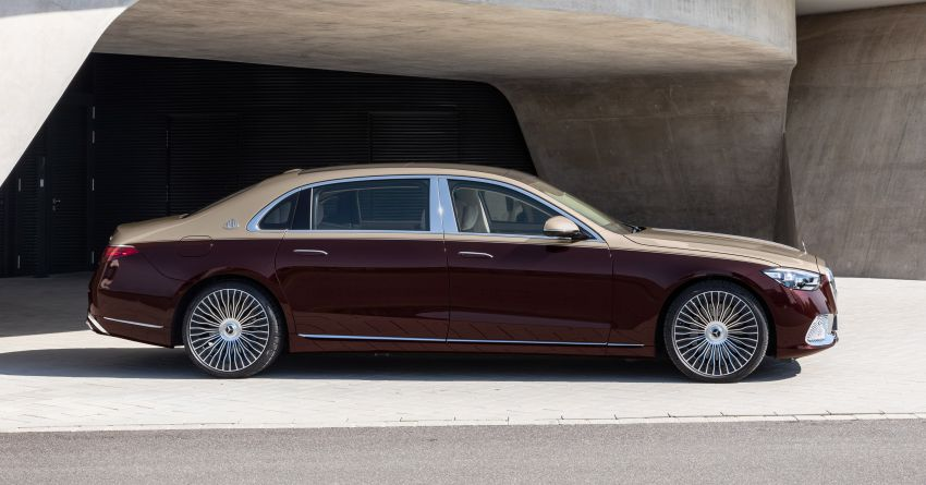 Z223 Mercedes-Maybach S-Class debuts – ultra-posh, tech-loaded flagship limo with 3,396 mm wheelbase Image #1213979
