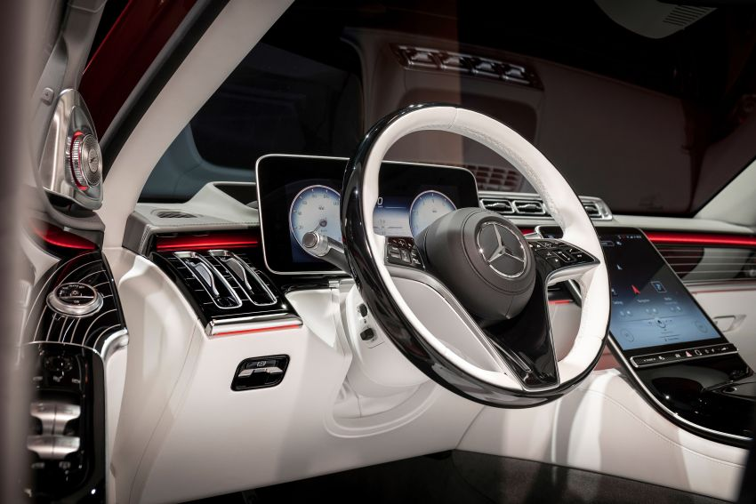 Z223 Mercedes-Maybach S-Class debuts – ultra-posh, tech-loaded flagship limo with 3,396 mm wheelbase Image #1214078