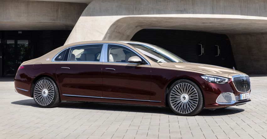 Z223 Mercedes-Maybach S-Class debuts – ultra-posh, tech-loaded flagship limo with 3,396 mm wheelbase Image #1213980