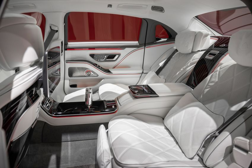 Z223 Mercedes-Maybach S-Class debuts – ultra-posh, tech-loaded flagship limo with 3,396 mm wheelbase Image #1214097