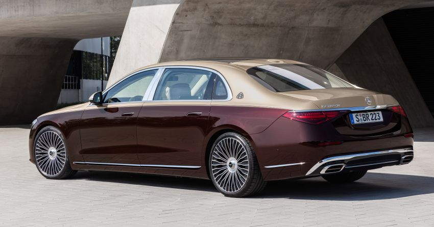 Z223 Mercedes-Maybach S-Class debuts – ultra-posh, tech-loaded flagship limo with 3,396 mm wheelbase Image #1213981