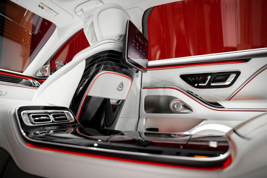 Z223 Mercedes-Maybach S-Class debuts – ultra-posh, tech-loaded flagship limo with 3,396 mm wheelbase Image #1214102