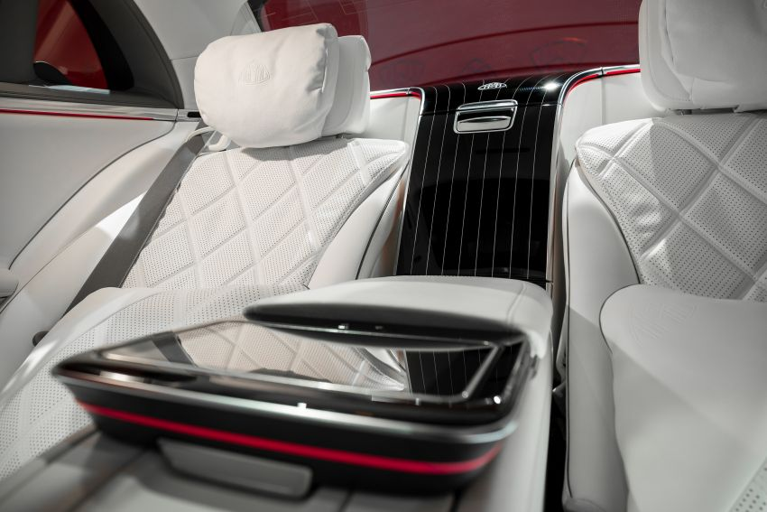 Z223 Mercedes-Maybach S-Class debuts – ultra-posh, tech-loaded flagship limo with 3,396 mm wheelbase Image #1214104