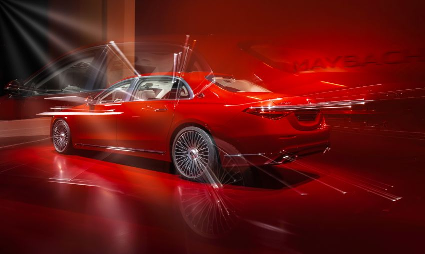Z223 Mercedes-Maybach S-Class debuts – ultra-posh, tech-loaded flagship limo with 3,396 mm wheelbase Image #1214108