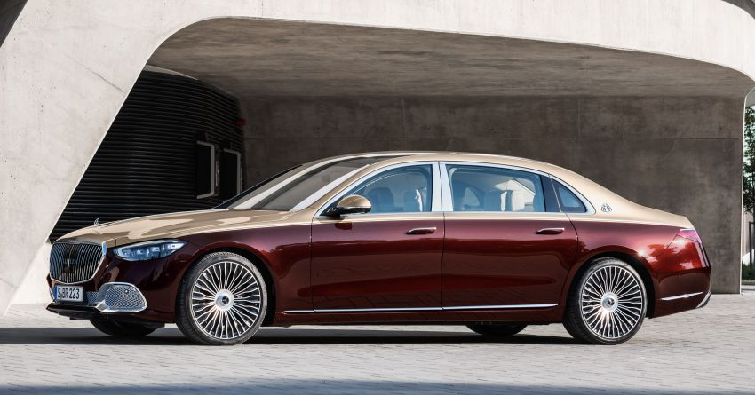 Z223 Mercedes-Maybach S-Class debuts – ultra-posh, tech-loaded flagship limo with 3,396 mm wheelbase Image #1213982