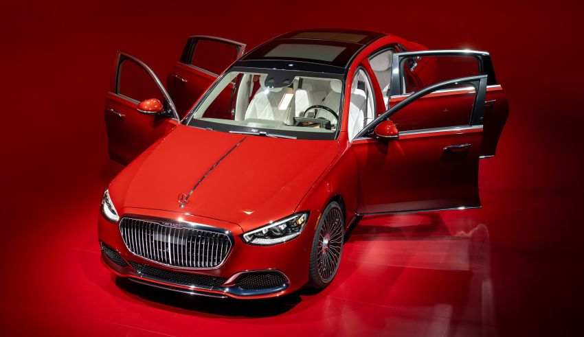 Z223 Mercedes-Maybach S-Class debuts – ultra-posh, tech-loaded flagship limo with 3,396 mm wheelbase Image #1214109