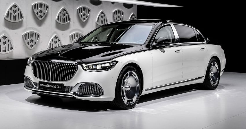 Z223 Mercedes-Maybach S-Class debuts – ultra-posh, tech-loaded flagship limo with 3,396 mm wheelbase Image #1214113