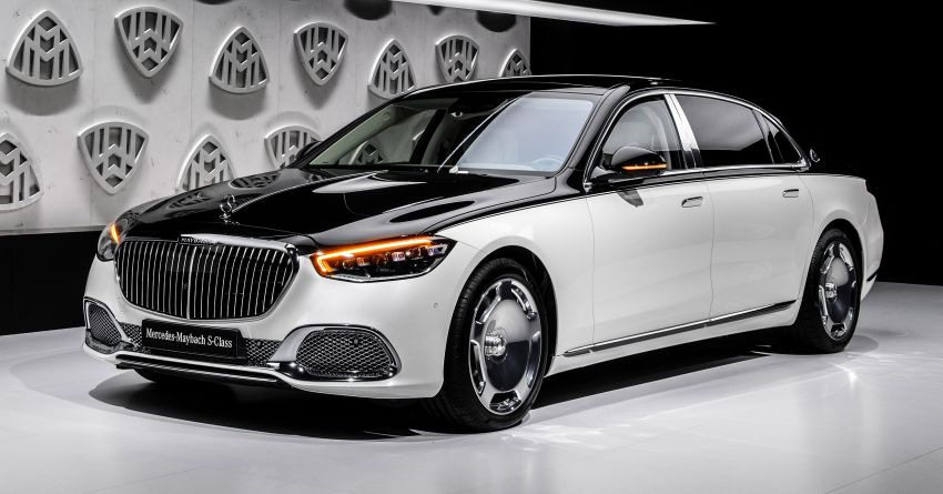 Z223 Mercedes-Maybach S-Class debuts – ultra-posh, tech-loaded flagship limo with 3,396 mm wheelbase Image #1214114
