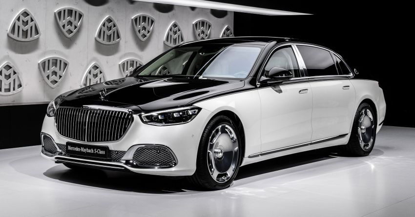 Z223 Mercedes-Maybach S-Class debuts – ultra-posh, tech-loaded flagship limo with 3,396 mm wheelbase Image #1214115