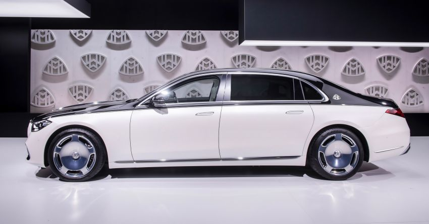 Z223 Mercedes-Maybach S-Class debuts – ultra-posh, tech-loaded flagship limo with 3,396 mm wheelbase Image #1214117
