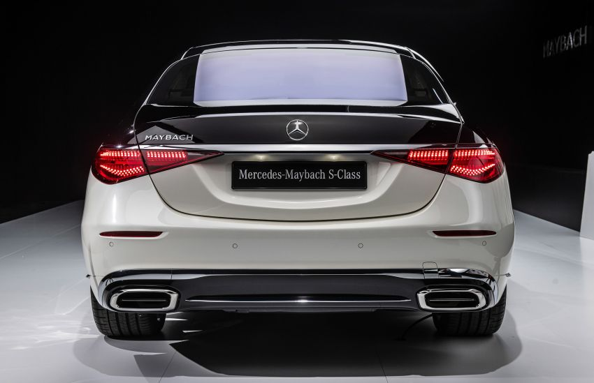 Z223 Mercedes-Maybach S-Class debuts – ultra-posh, tech-loaded flagship limo with 3,396 mm wheelbase Image #1214118