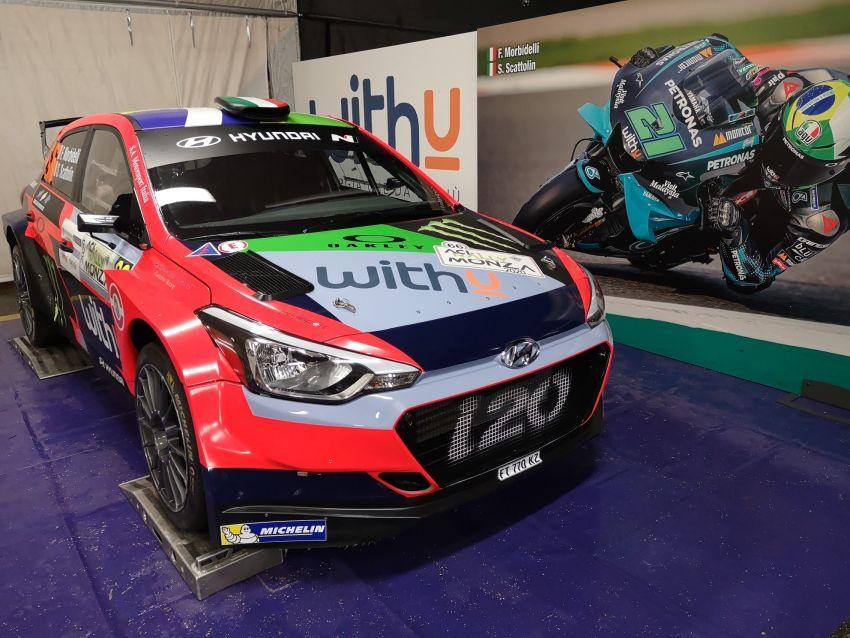 Petronas SRT's Franco Morbidelli goes rally racing Image #1221110